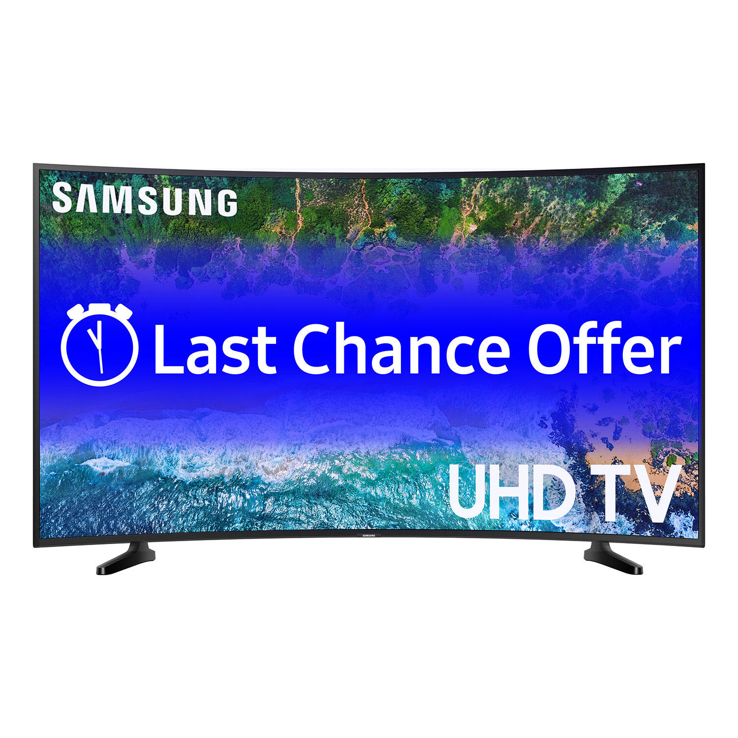 "Samsung UN49NU6300FXZA 49"" Curved 4K Smart LED UHDTV"