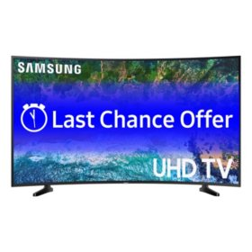 "SAMSUNG 49"" Class Curved 6-Series 4K Ultra HD Smart HDR TV - UN49NU6300FXZA"