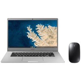 "Samsung Chromebook 4+ 15.6""- Intel Celeron Processor N4000 - 4GB Memory - 32GB Storage - Island -Type Keyboard - Chrome OS"