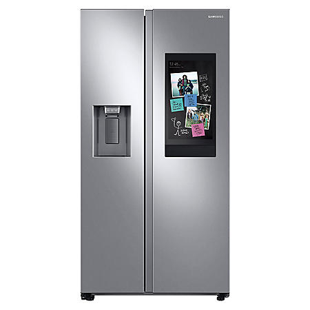 Samsung 22 cu. ft. Counter Depth Side By Side Refrigerator with Touch Screen Family Hub ™