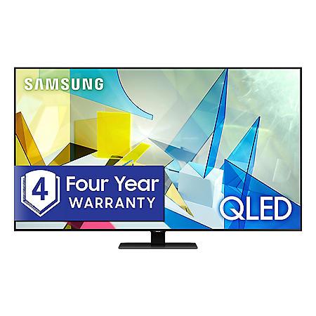 "Samsung 75"" Class Q8-Series 4K Ultra HD Smart QLED TV QN75Q8DTAFXZA (2020 Model)"