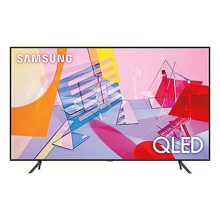 """SAMSUNG 50"""" Class Q6-Series 4K Ultra HD Smart QLED TV - QN50Q60TAFXZA"""