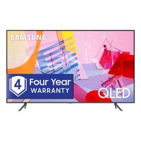 "SAMSUNG 50"" Class Q6-Series 4K Ultra HD Smart QLED TV QN50Q6DTAFXZA (2020 Model)"