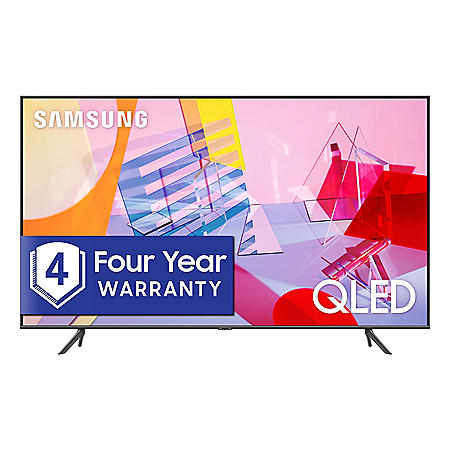"Samsung 65"" Class Q6-Series 4K Ultra HD Smart QLED TV QN65Q6DTAFXZA (2020 Model)"