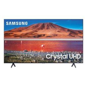 "Samsung 58"" Class TU700D-Series Crystal Ultra HD 4K Smart TV UN58TU700DFXZA (2020 Model)"