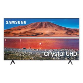 "SAMSUNG 70"" Class TU700D-Series Crystal Ultra HD 4K Smart TV UN70TU700DFXZA (2020 Model)"