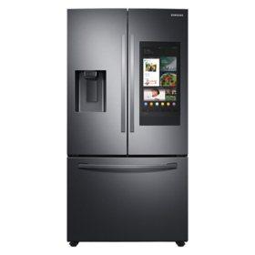 Samsung 26.5 cu. ft. Large Capacity 3-Door French Door Refrigerator with Family Hub™