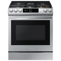 Samsung 6.0 cu. ft. Slide-in Gas Range with Smart Dial & Air Fry