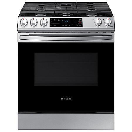 Samsung 6.0 cu. ft. Slide-in Gas Range