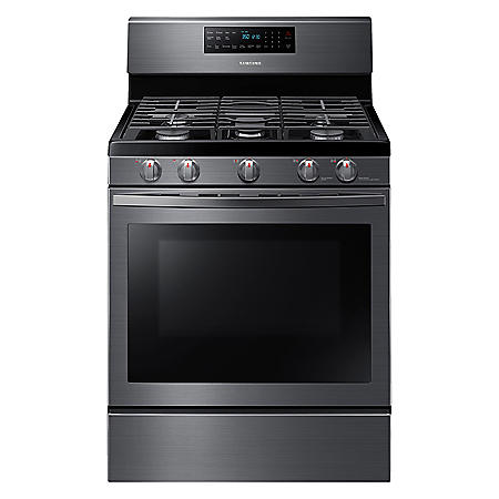 Samsung 5.8 cu. ft. Freestanding Gas Range with Air Fry and Convection