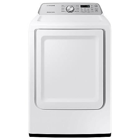 Samsung 7.4 cu. ft. Electric Large Capacity Top Load Dryer with Sensor Dry