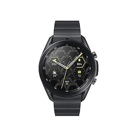 Samsung Galaxy Watch 3 45MM Titanium Bluetooth (Mystic Black)