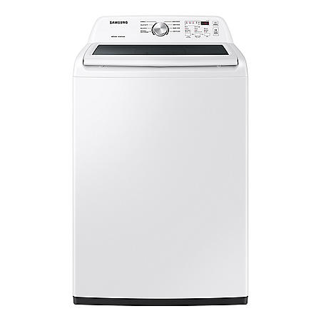 Samsung 4.4 cu. ft. Top Load Washer with ActiveWave Agitator and Soft-Close Lid