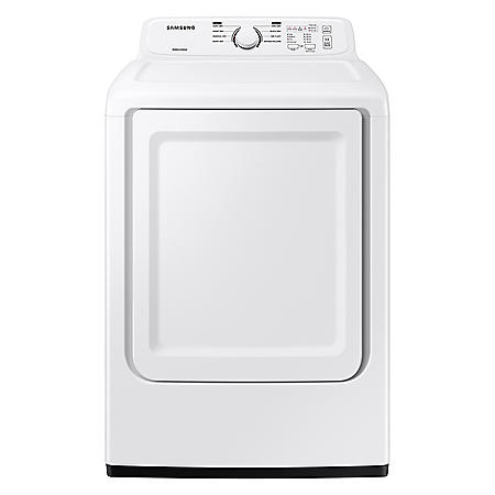 Samsung 7.2 cu. ft. Dryer with Sensor Dry and 8 Drying Cycles