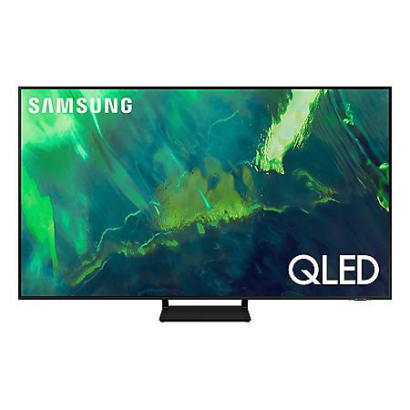 """SAMSUNG 55"""" Class Q7-Series 4K Ultra HD QLED Smart TV - QN55Q7DAAFXZA"""