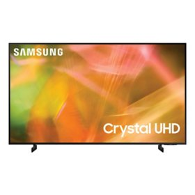"SAMSUNG 65"" Class AU800D-Series Crystal Ultra HD 4K Smart TV - UN65AU800DFXZA"