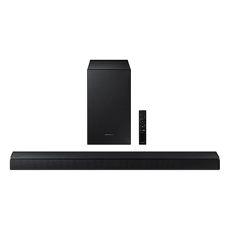 SAMSUNG 2.1 Channel Soundbar with Wireless Subwoofer & Dolby Audio - HW-A45C
