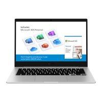 """Samsung Galaxy Book Go - 14"""" Silver - Qualcomm® 7C Kryo465 Processor - 4GB Memory- 128GB Storage - Island-Type Keyboard - Windows 10 Home - NP340XLA"""