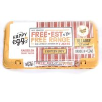 Happy Egg Free Range Brown Eggs (18 ct.)