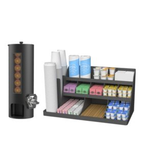 "Mind Reader ""Revolution"" Coin operated K Cup Dispenser and  ""Vanguard"" Break room Organizer"