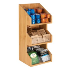 Mind Reader Goldie 3-Tier Condiment Organizer