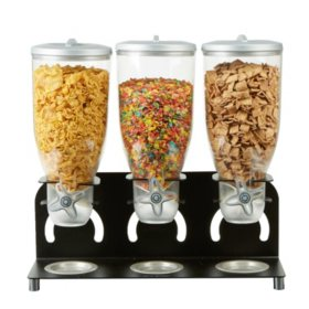 Mind Reader Triple Cereal Dispenser