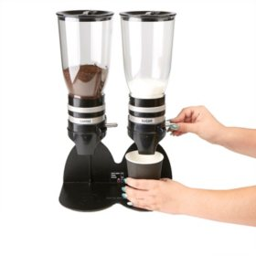 Mind Reader Double Standing Base Coffee and Sugar Dispenser