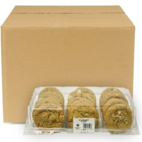 Member's Mark White Chunk Macadamia Nut Cookie Dough, Bulk Wholesale Case (144 ct.)