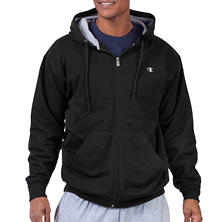 Champion Big & Tall Full-Zip Pouch Pocket Hoodie