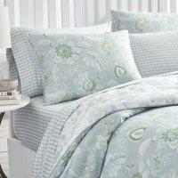 Martha Stewart Watercolor Jacobean 3-Piece Comforter Set (Assorted Sizes)