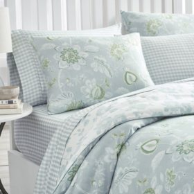 Martha Stewart Watercolor Jacobean 3-Piece Comforter Set (Assorted Sizes)