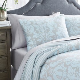 Martha Stewart Sutton Damask 3-Piece Comforter Set (Assorted Sizes)