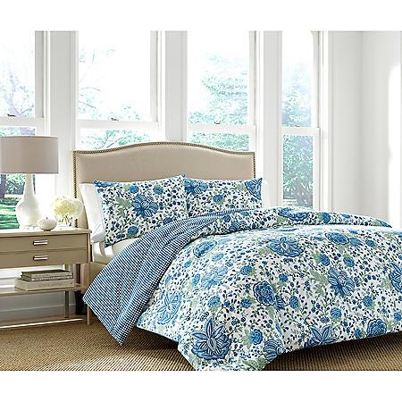 Martha Stewart Monroe 3-Piece Comforter Set (Assorted Sizes)