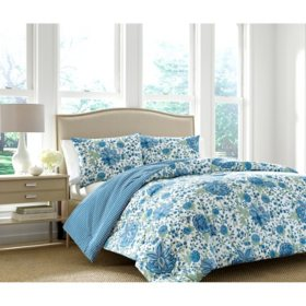 Martha Stewart Monroe 3-Piece Comforter Set (Assorted Sizes)