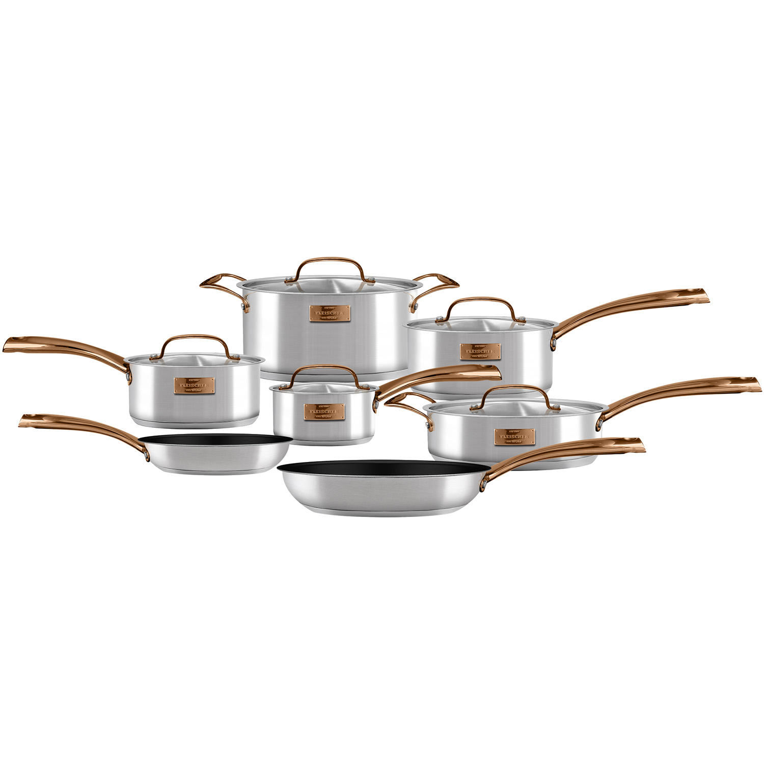 Fleischer and Wolf London 12-Piece Cookware Set