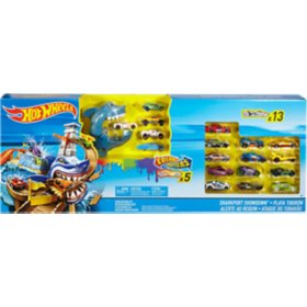 Hot Wheels Color Shifters Sharkport Showdown Play Set