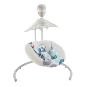 Fisher-Price Revolve Swing with Smart Connect, Starlight