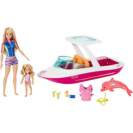 Barbie And Chelsea Ocean View Boat Playset Sam S Club