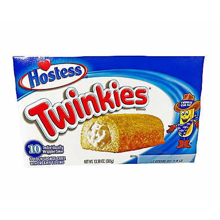 Hostess Twinkies (1.36oz / 10pk)