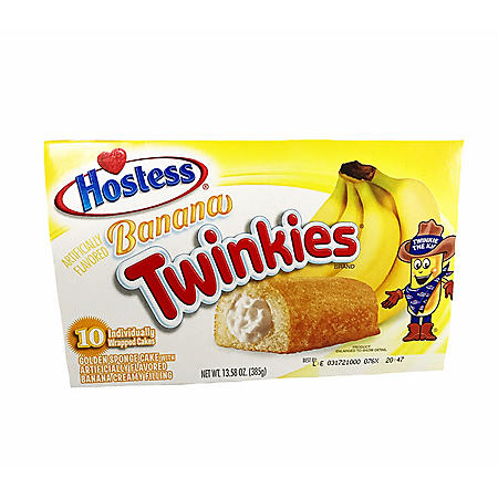 Hostess Banana Twinkies (1.36oz / 10pk)