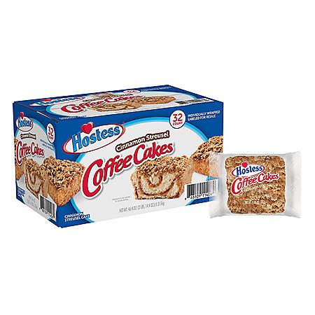 Hostess Cinnamon Streusel Coffee Cake (1.44oz / 32pk)
