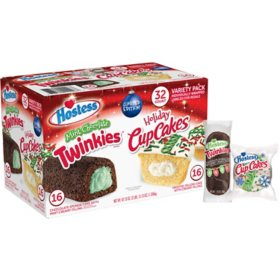 Hostess Holiday Variety Pack (32 pk.)