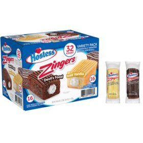 Hostess Zingers Variety Pack (1.27oz / 32pk)