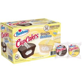 Hostess Iced Lemon / Chocolate CupCakes Variety Pack (1.59oz / 32pk)