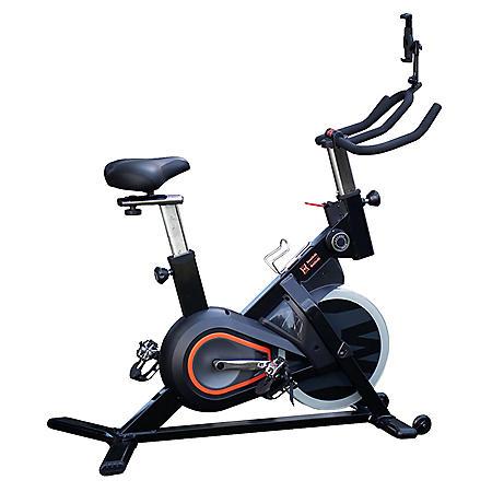 Women's Health Men's Health Eclipse Bluetooth Indoor Cycling Bike with MyCloudFitness App