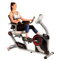 Fitness Reality X-Class 450SL Bluetooth Smart Technology Magnetic Recumbent Exercise Bike with 24 Workout Programs and Free App and MyCloudFitness Chest Belt