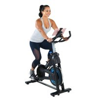 Exerpeutic Bluetooth Indoor Cycling Bike with MyCloudFitness App and MyCloudFitness Chest Belt