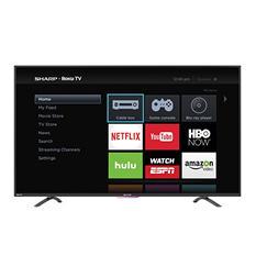 "Sharp 55"" Class 1080p  Smart Roku TV -  LC-55N4000U"