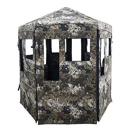 Down & Out Warrior Blind - 360-Degree View