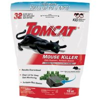 Tomcat  Mouse Killer Child-Resistant Refillable Station - 32 0.5-oz. Refills